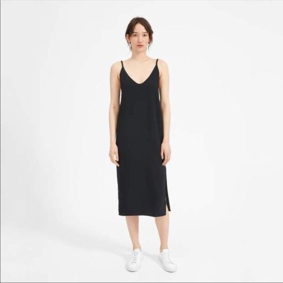 Everlane Dresses Japanese Goweave Long Slip Dress Poshmark